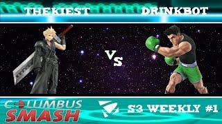 The Kiest vs Drink Bot : Columbus Weekly 1/10/2017