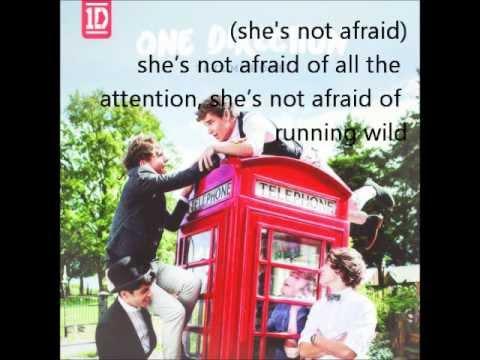 One Direction - She's Not Afraid (With Lyrics!)