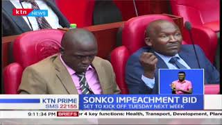 Sonko Impeachment: Elachi gives Sonko until Monday 10am to respond to impeachment motion
