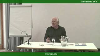 Alain Badiou. The Concept of Change: Mathematics and Vitalism. 2012