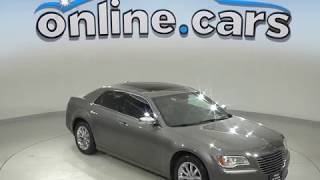 A99653GP Used 2011 Chrysler 300 Limited RWD 4D Sedan Silver Test Drive, Review, For Sale