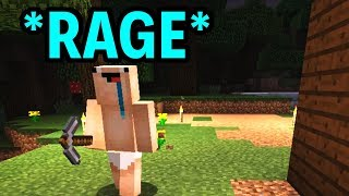 RageCraft Part 1 - Minecraft Funny Moments, Rages and Fails