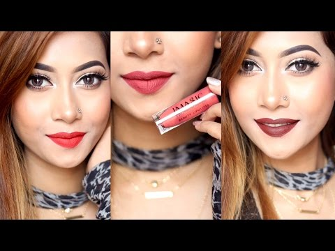 12-colors-i-magic-professional-liquid-matte-lipstick-swatches-|-sumayaa-meem