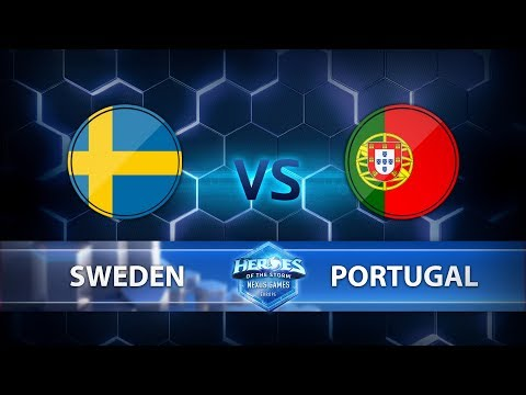 Nexus Games Europe - Group D Match 2 – Sweden vs. Portugal - Game 1