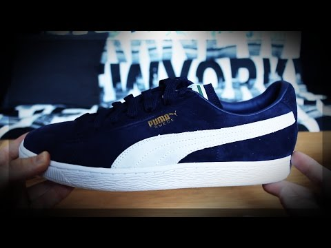 PUMA Suede Classic+ Unboxing - My New Freestyle Shoes! | Leon.freestyle