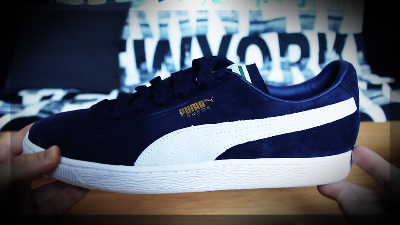 a2bdb78c04e495 PUMA Suede Classic+ Unboxing - my new freestyle shoes!