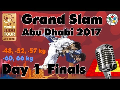 Judo Grand-Slam Abu Dhabi 2017: Day 1 - Final Block