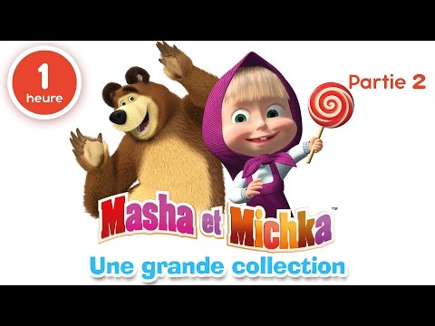 Masha et Michka - Une grande collection de dessins animés (P