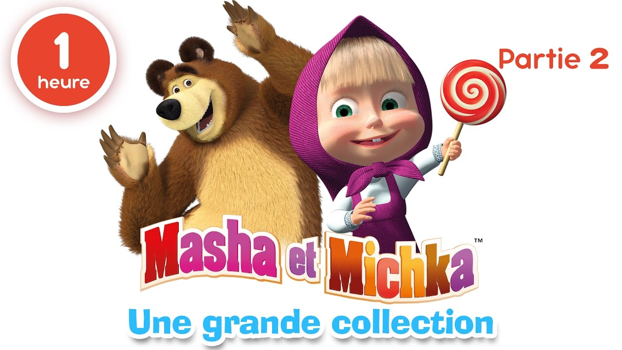 Masha Et Michka Une Grande Collection De Dessins Animes Partie 2