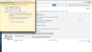 How to input Zoho Email into Gmail