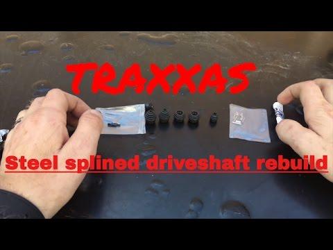 HDRC GUIDE: Rebuild  Traxxas steel spline CVD TRA 6757-