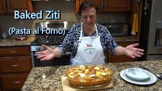 Italian Grandma Makes Baked Ziti/Rigatoni (Pasta al Forno)