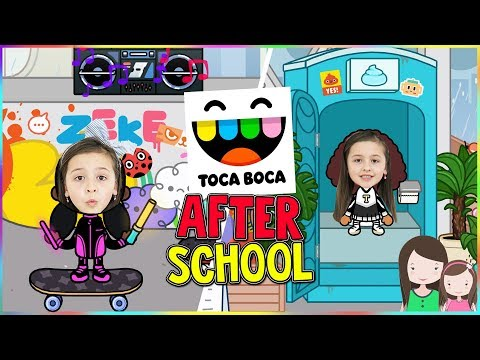 TOCA BOCA: AFTER SCHOOL Let's Play - Alles Ava