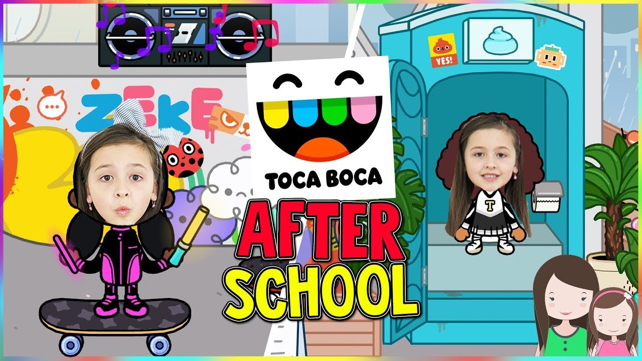 TOCA BOCA: AFTER SCHOOL Let\'s Play - Alles Ava - YouTube