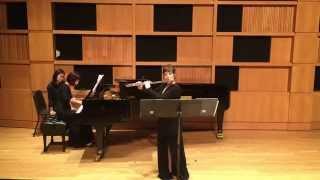Eftihia V. Arkoudis - Sonata for Flute & Piano op.2 by Babis Kanas
