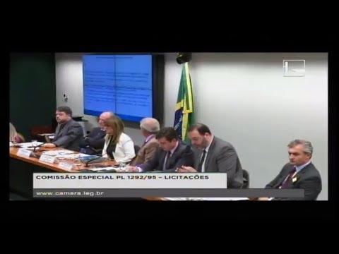 PL 1292/95 - LICITAÇÕES - Reunião Deliberativa - 20/03/2018 - 14:40