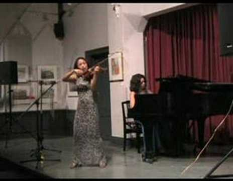 Lynn Kuo, violin; Marianna Humetska, piano Szymanowski Nocturne &Tarantella (1 of 2)