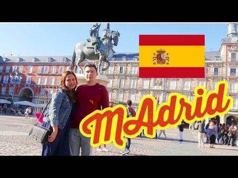 MADRID SPAIN | TRAVEL VLOG #12 | SEPT 17 2017