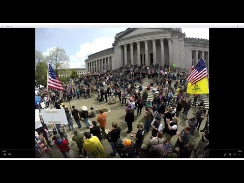 March for our Rights Olympia Pro Gun Rally 2018