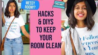 How to Organize Your Room! Organization DIYs + Hacks | Sejal Kumar
