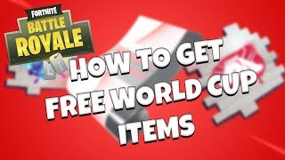 FREE FORTNITE WORLD CUP ITEMS! – How To Link Your EPIC and YouTube Accounts