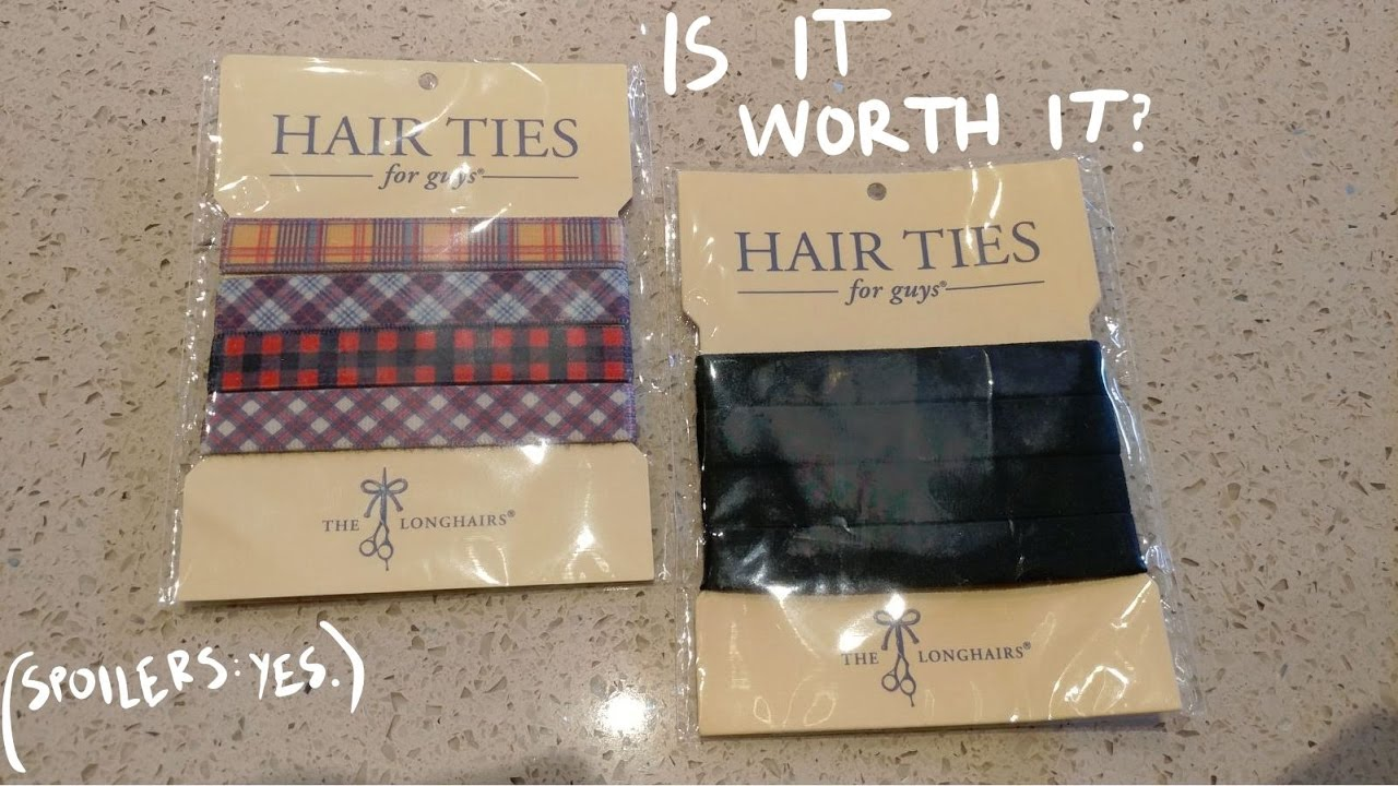 REVIEW- HAIR TIES FOR GUYS - YouTube 883f0a1570e