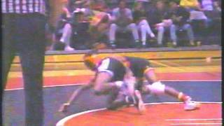 1991 Carbondale Illinois wrestling on WSIL TV