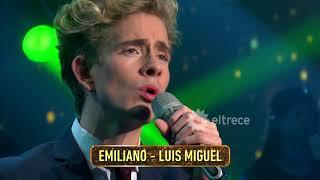 ¡Cantó una difícil canción de Luis Miguel y Guido quedó sorprendido!