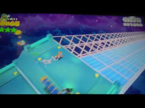 AMAZING FLYING DISTANCE IN SUPER MARIO 3D WORLD!!!