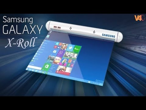 SAMSUNG Galaxy X Roll First Look, Release Date, Specs, Features, Camera - Samsung Rollable Display