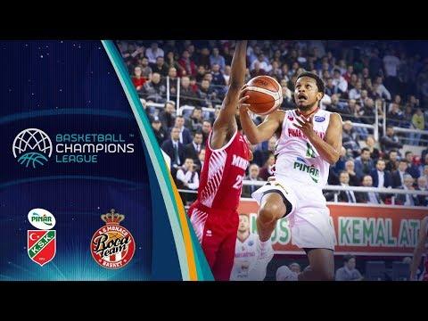 Pinar Karsiyaka v AS Monaco - Full Game - Basketball Champions League
