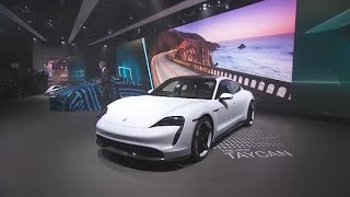 The Porsche Press Conference at the L.A. Auto Show - Highlights
