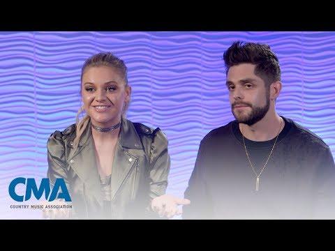 Thomas Rhett & Kelsea Ballerini - Craving You/Yeah Boy   CMA Fest 2017   CMA