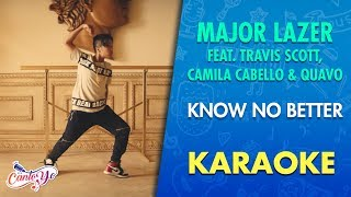 Major Lazer Know No Better feat Travis Scott Camila