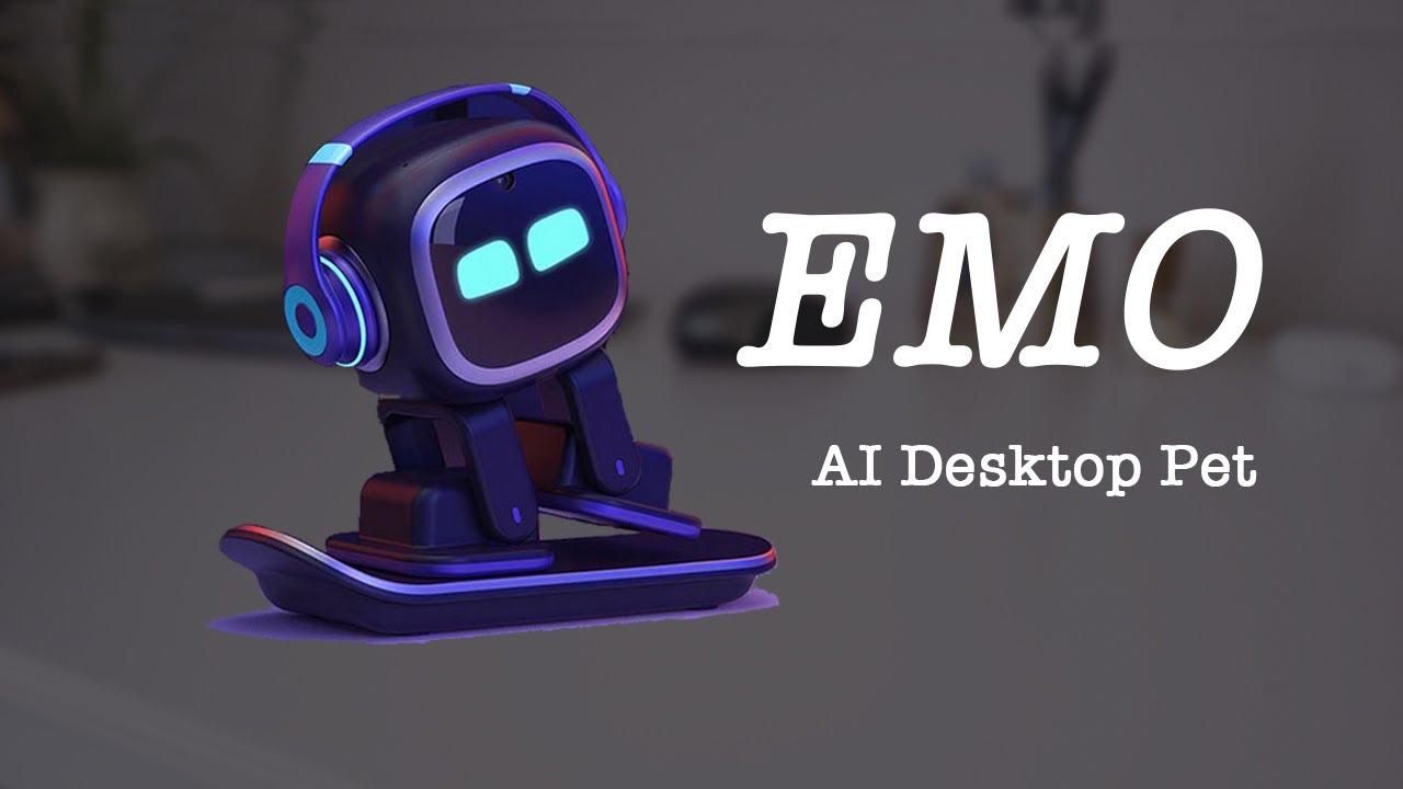EMO   Desktop AI Robot Pet Vector Clone [Upcoming Tech Ep20]