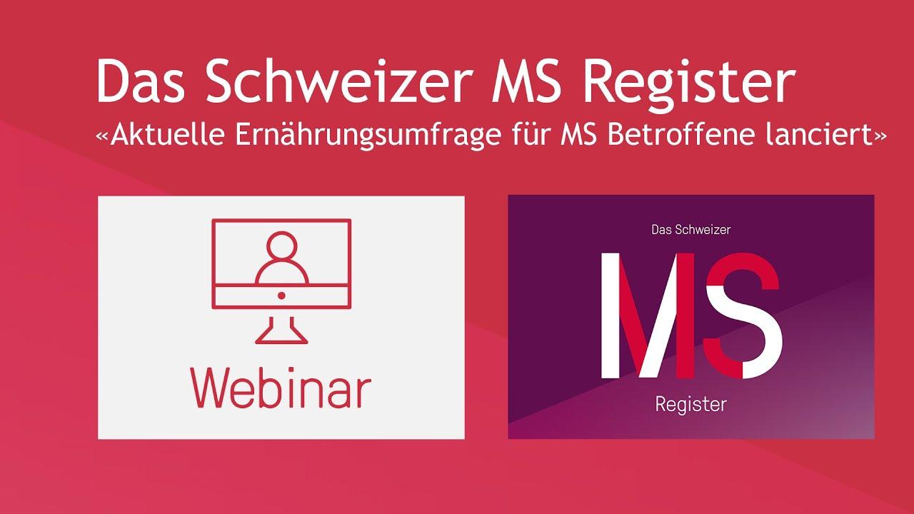 Das Schweizer MS Register