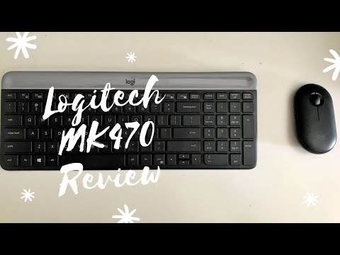 Logitech MK470 Review - Slim Keyboard and Mouse Combo