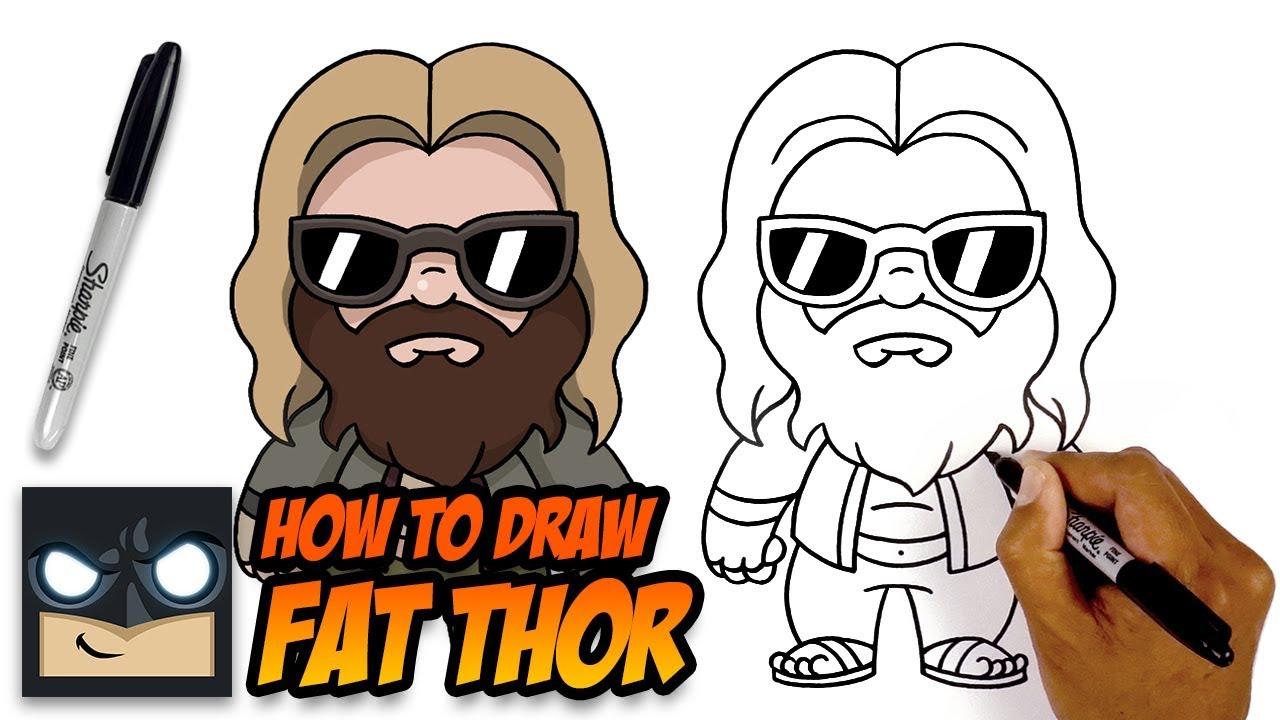 How to draw bbw