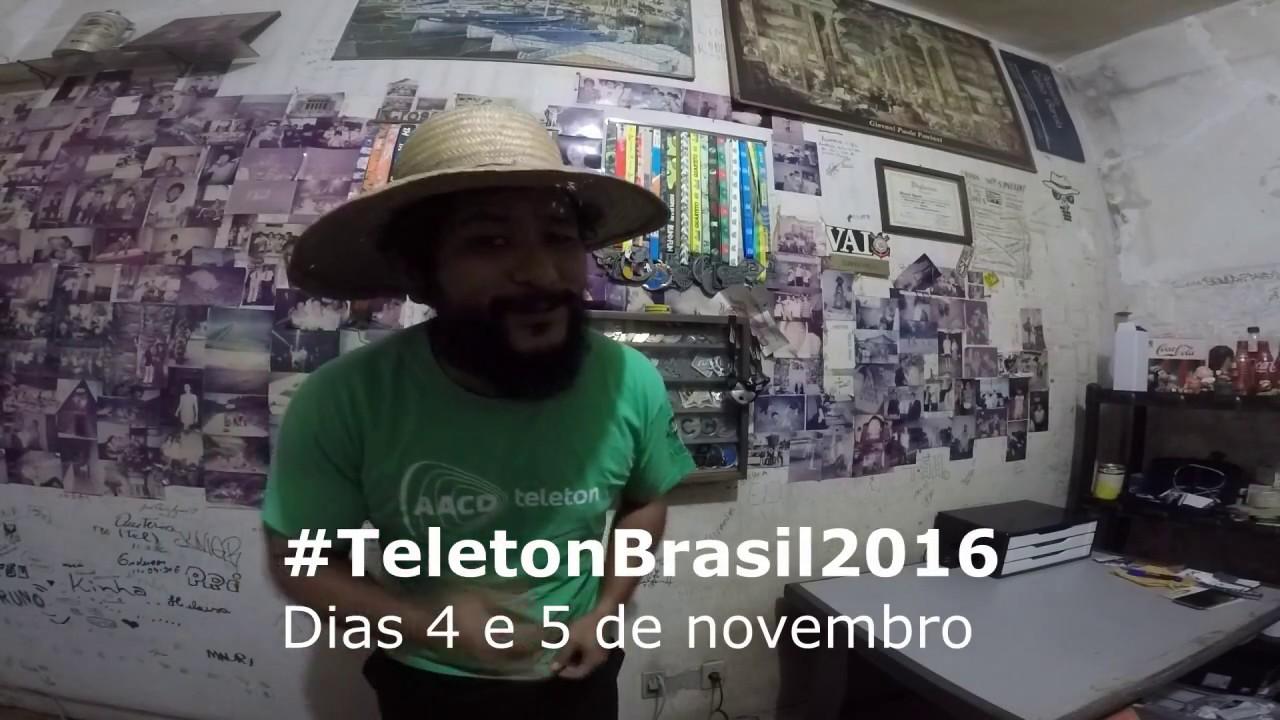 #TeletonBrasil2016 - Desafio do Copo