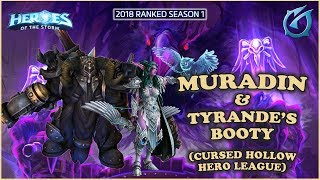 Grubby | Heroes of the Storm - Muradin and Tyrande's Booty - HL 2018 S1 - Cursed Hollow