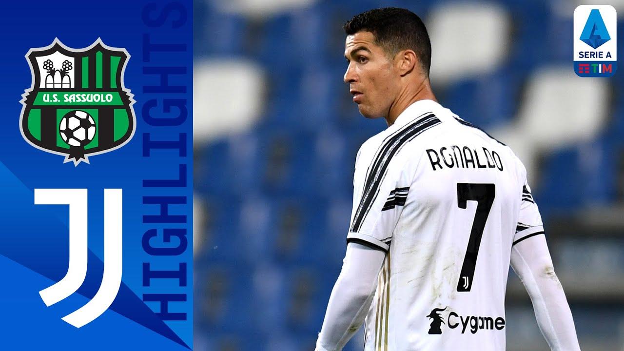 Sassuolo 1-3 Juventus | Rabiot, Ronaldo and Dybala score to guide Juve! | Serie A TIM