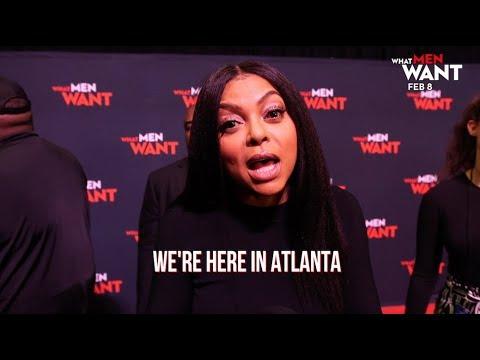 What Men Want (2019) - Atlanta Press Playbook- Paramount Pictures