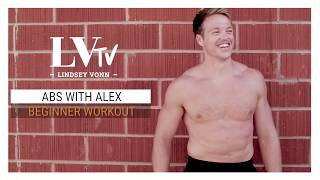 Beginner Ab Circuit | Abs with Alex | Lindsey Vonn TV