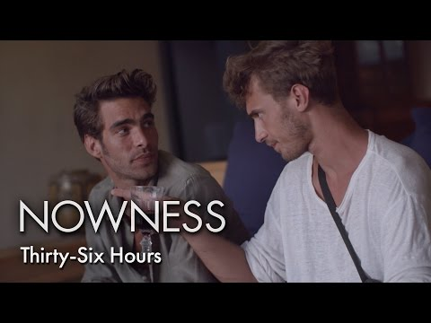 "Models Clément Chabernaud & Jon Kortajarena in ""Thirty Six Hours"""