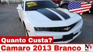 Camaro 2013 - Quanto Custa nos Estados Unidos