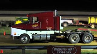 2016 Tractor Pull And Semi Truck Drag Racing At Tri-State Raceway, Earlville, IA