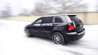 Chrysler Pacifica snow drift Крайслер Пацифика дрифт по снегу