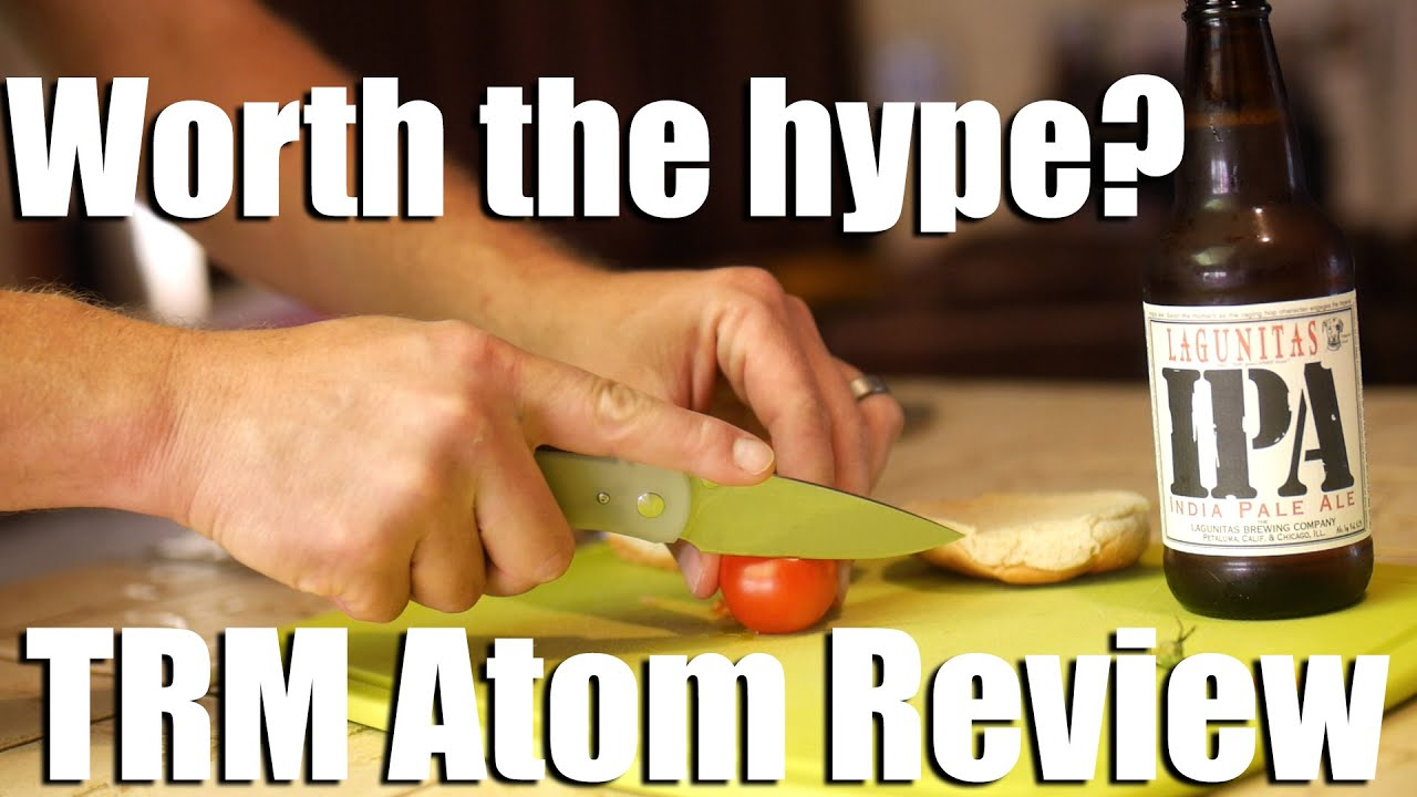 Is this hard to get pocket knife worth the hype?  TRM Atom Review