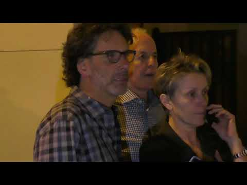Frances McDormand and Joel Coen outside of Craigs in West Hollywood