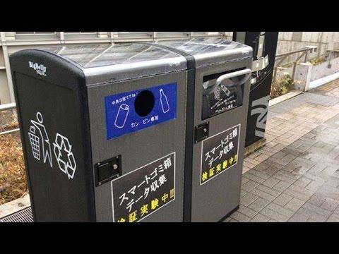 Jepang Ciptakan Tempat Sampah Pintar Yang...